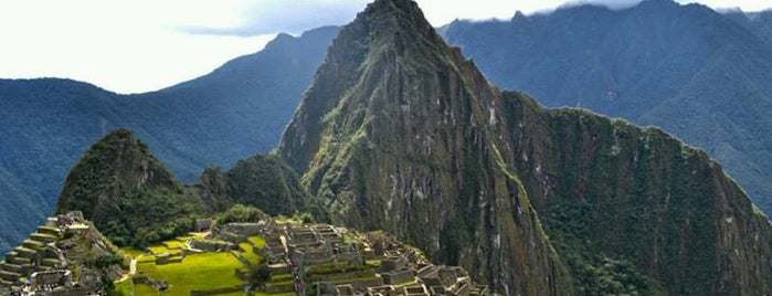 Machu Picchu is one of Antes de Morrer.