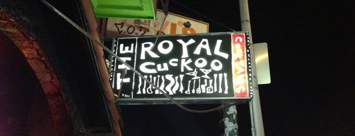 The Royal Cuckoo is one of SF Restaurants (been to).