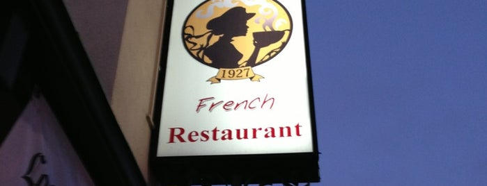 Taix French Restaurant is one of KCRW.