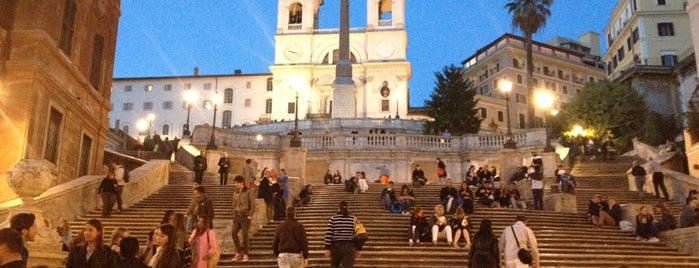 Scalinata di Trinità dei Monti is one of Go Ahead, Be A Tourist.