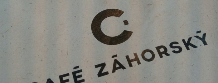 Café Záhorský is one of Praga.
