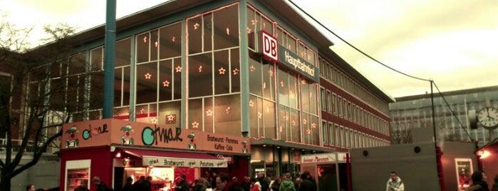 Münster (Westf) Hauptbahnhof is one of Münster - must visit.
