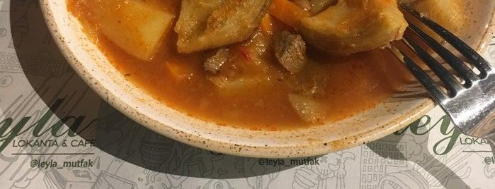 leyla lokanta&cafe is one of Posti che sono piaciuti a Berkan.