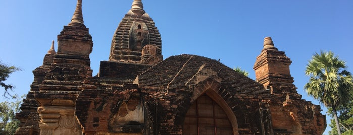 Gubyauk Gyi is one of Bagan,  Myanmmar.