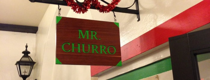 Mr. Churro is one of Los Angeles.