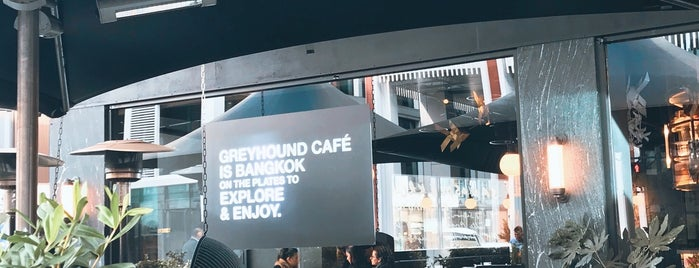 Greyhound Cafe is one of Tempat yang Disukai Helen.