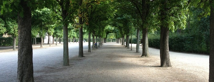 Augarten is one of Best sport places in Vienna.