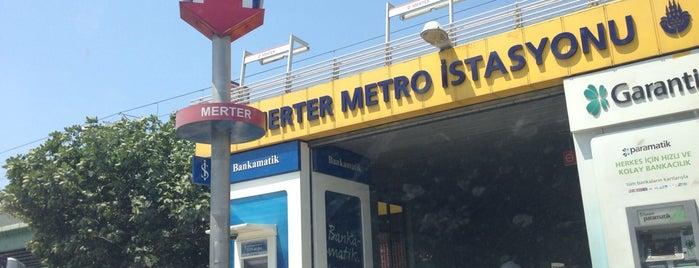 Merter Metro İstasyonu is one of สถานที่ที่ MEHMET YUSUF ถูกใจ.