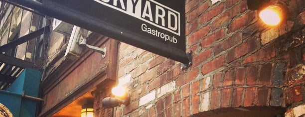 Brickyard Gastropub is one of Gourmet Expectations.net.