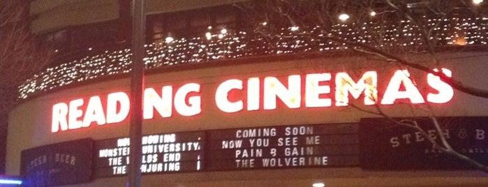 Reading Cinemas is one of Tempat yang Disukai Sean.