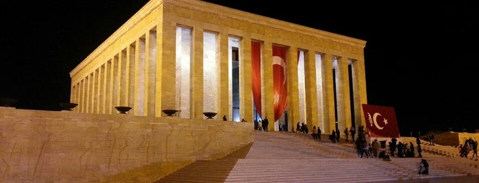 Anıtkabir is one of Ankara.