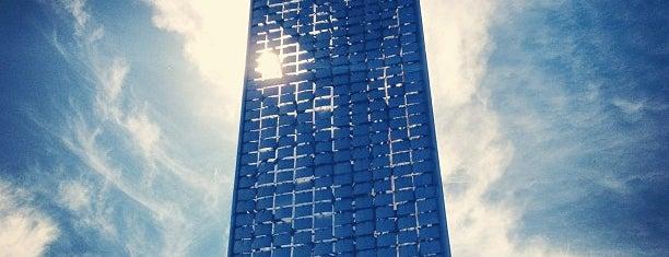 The Crystalline Tower is one of Cincinnati Riverfront.