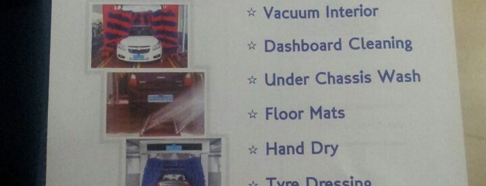 Master Wash 24 Hours Automated Car Wash is one of Nirmal 님이 좋아한 장소.
