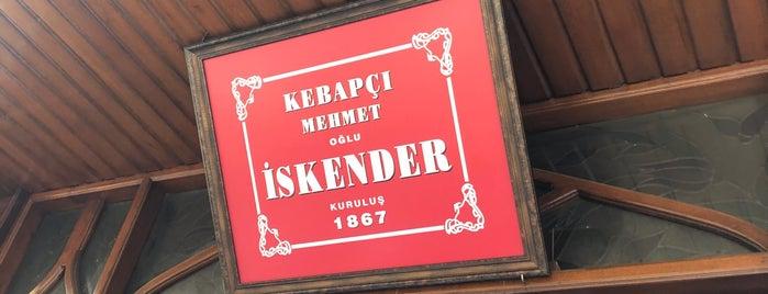 Kebapçı İskender | İskender İskenderoğlu ve Evlatları is one of liste.