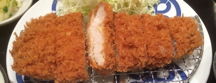 Tonkatsu Maisen is one of Tokyo Food Guide.