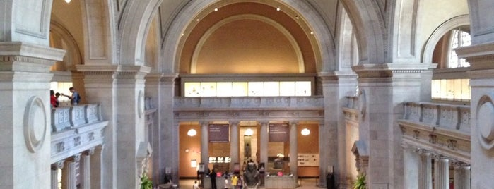 The Metropolitan Museum of Art is one of The Foursquare Insider's Perfect Day in NYC.