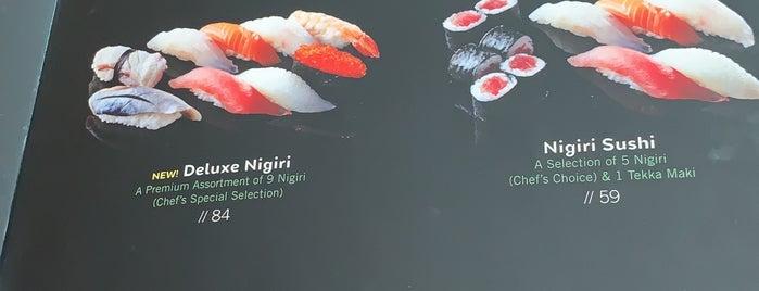 Miyabi Sushi & Bento - Palm Jumeirah is one of Lieux qui ont plu à Burkay.