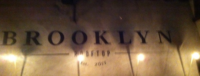 Brooklyn Rooftop is one of Restaurantes por conocer.