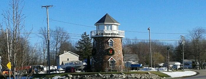 Ashtabula Land Lighthouse is one of Lighthouses of Lake Erie.