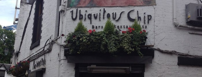 Ubiquitous Chip is one of Glasgow.