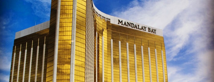 Mandalay Bay Resort and Casino is one of Las Vegas All Badges.