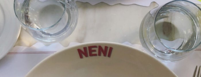 Neni Brasserie is one of ISTANBUL ASIA RESTAURANTS.