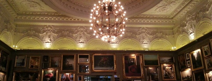 Berners Tavern is one of Fitzrovia, London.