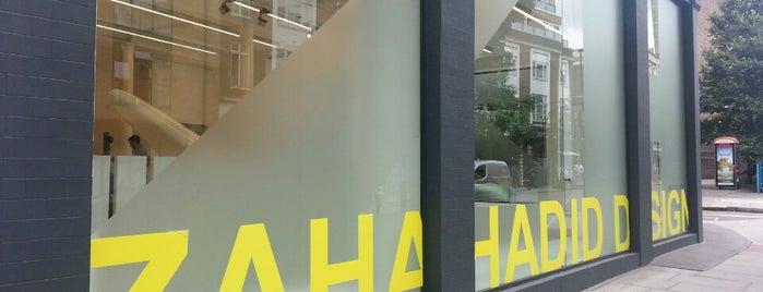 Zaha Hadid Gallery is one of London.