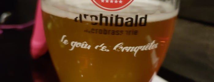 Archibald Microbrasserie is one of Bieres de microbrasseries / Microbreweries beers.