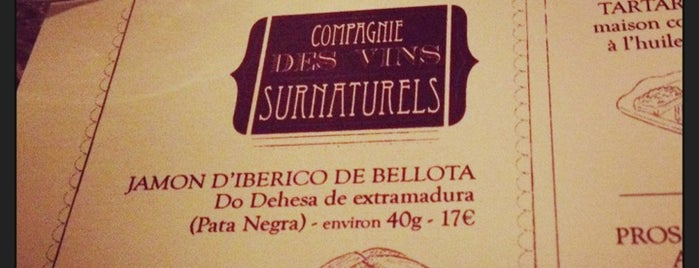 Compagnie des Vins Surnaturels is one of Paris.