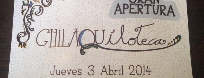 Chilaquiloteca is one of Lo tengo que visitar!.