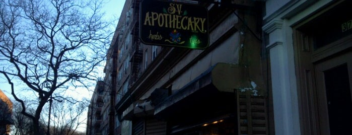 Sacred Vibes Apothecary is one of NY.