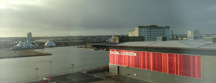 ExCeL London is one of Lieux qui ont plu à Parth.