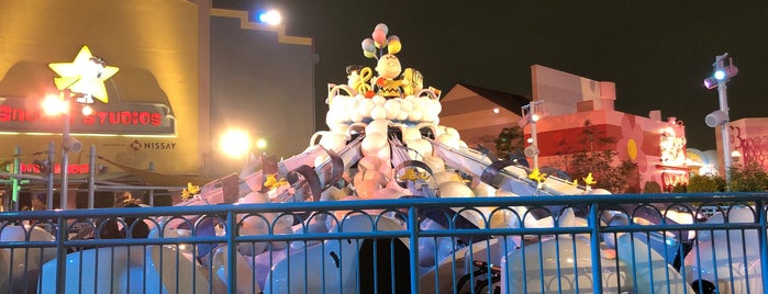 Snoopy's Backlot Cafe is one of Universal Studios Japan.