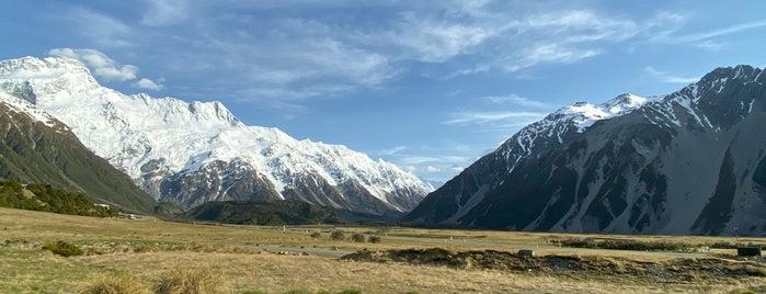 Mount Cook National Park is one of Tempat yang Disimpan Matt.