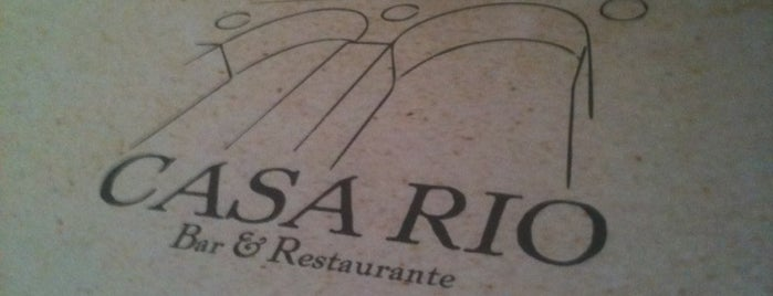 Casa Rio Bar & Restaurante is one of Bars & Pubs in Campinas.