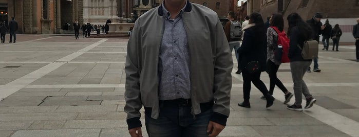 Piazza Maggiore is one of Bologna, Italy.