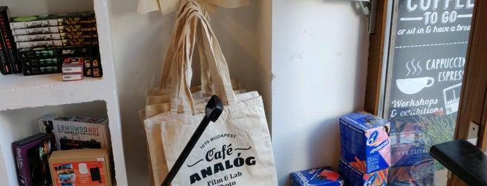 Café Analóg is one of Budapest - Calum & my trip.