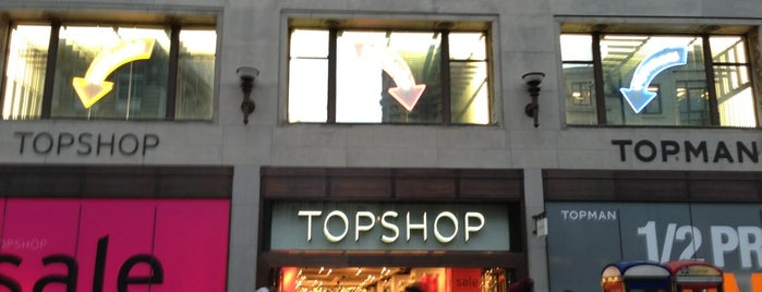 Topshop is one of London shopping..