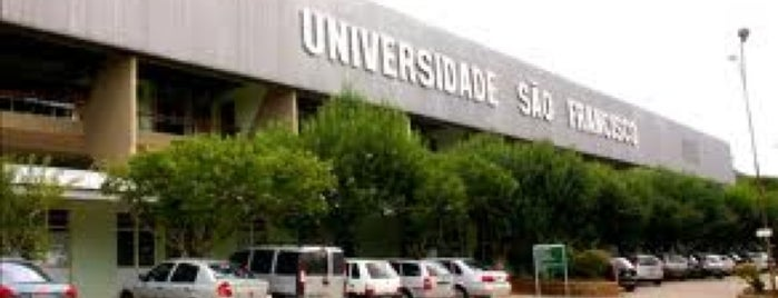 Universidade São Francisco is one of Locais curtidos por Sidney.