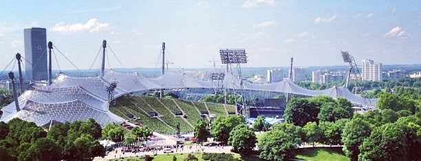Olympiastadion is one of Munich City Badge.
