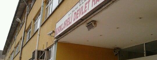Kırklareli Devlet Hastanesi is one of Tempat yang Disukai Nihat.