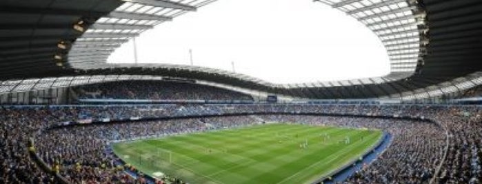 Etihad Stadium is one of Soccer Stadiums.