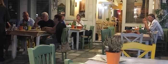 Συριανή Κουζίνα is one of สถานที่ที่ Electra ถูกใจ.