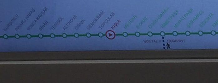 Antray Kışla İstasyonu is one of Haluk : понравившиеся места.