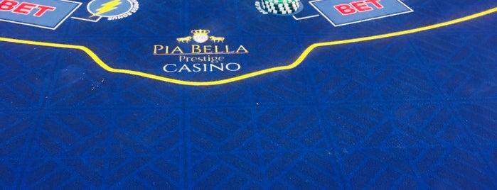 Pia Bella Poker Room is one of Tempat yang Disukai Hanna.