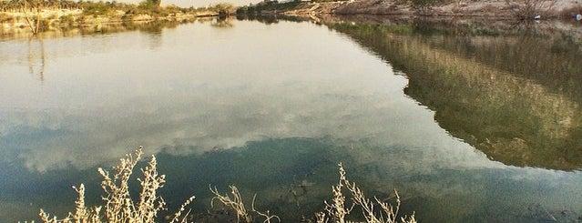 Hanifa Valley Dam | سد وادي حنيفة is one of Riyadh Outdoors.