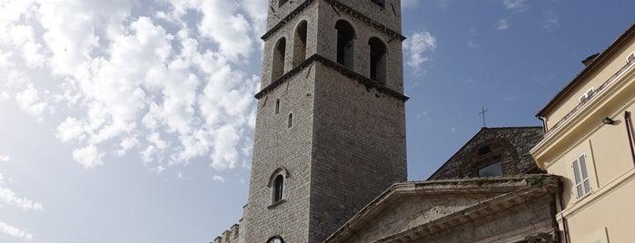 Tempio di Minerva is one of András'ın Beğendiği Mekanlar.