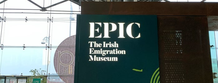 EPIC The Irish Emigration Museum is one of Tempat yang Disimpan Whit.