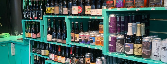 Mikkeller & Friends Bottleshop is one of Copenhagen.